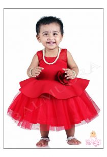 Baby Girl Beautiful Styled Clothes Modelling