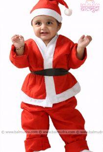 Baby Santa in Balmudra Studio Pune for Photo Session