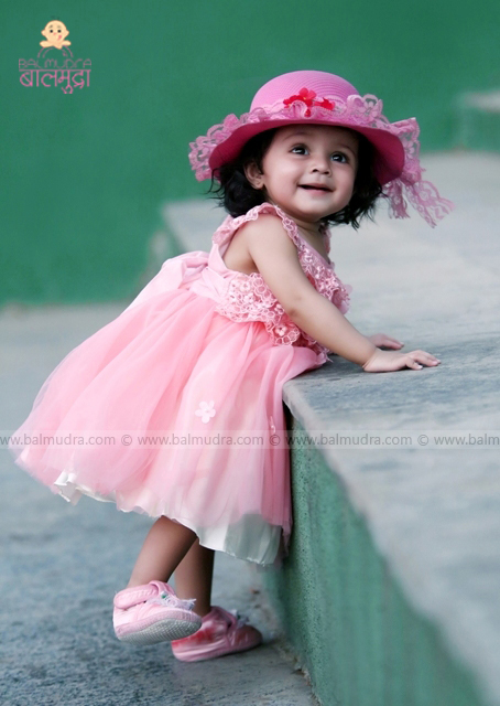 Picture of beautiful cute baby girl