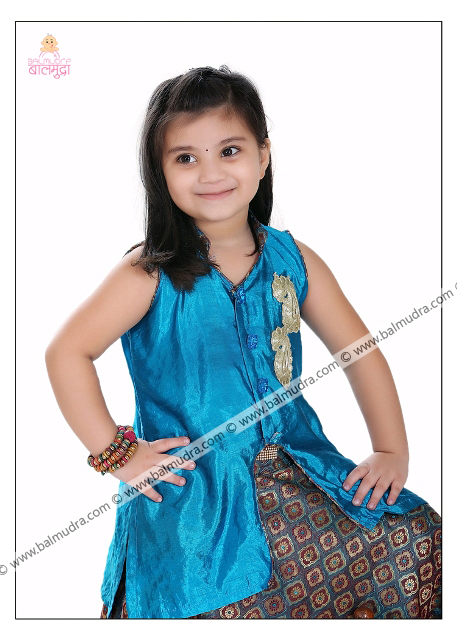 4 Years Cute Girl Professional Portfolio Photo Shoot in Balmudra Studio Pune