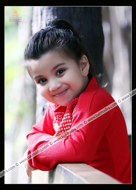 4 Years Indian Cute Girl Professional Portfolio Photo Session in Balmudra Studio Pune