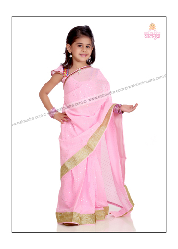 Smart and Elegant Baby Girl Posing for Photo Shoot in Balmudra Studio Pune.jpg
