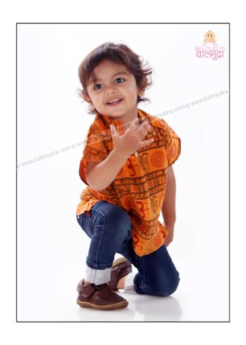 Baby modeling in Pune in balmudra studio