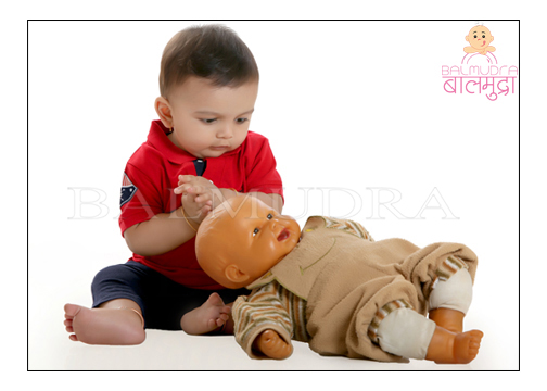 Baby modeling in Pune - Balmudra Studio Photo Shoot